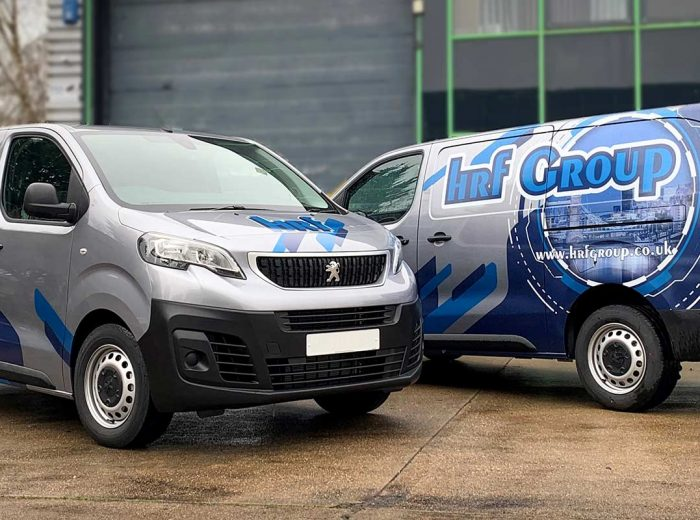 Vans with graphics
