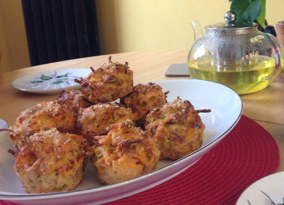 Photo of sweet potato muffins
