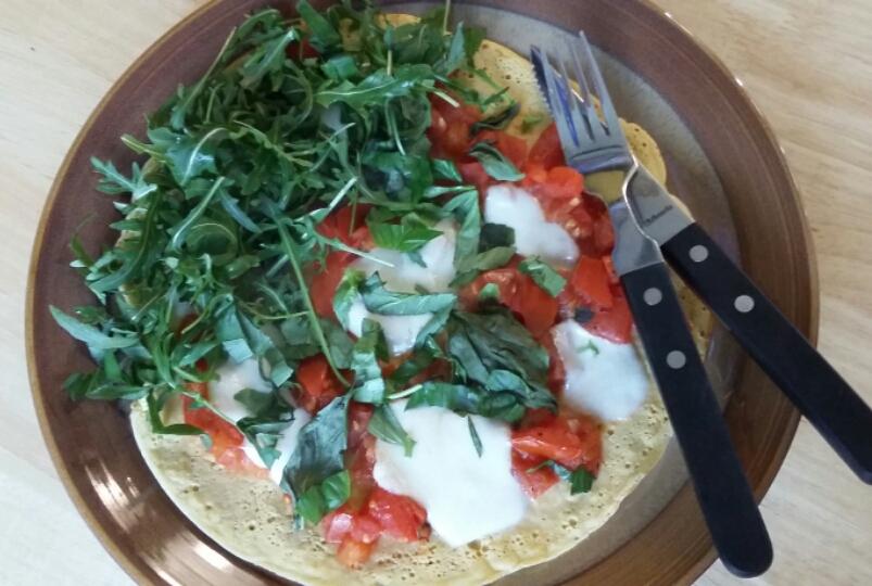 Photo of socca pizza